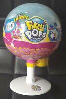 New HUDDY Pikmi Pops SURPRISE Scented JUMBO PLUSH Fluffy Bunny CHARM Lollipop