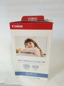 Canon KP-108IN Color Ink and Paper Set w/ 54 Sheets Only *READ PLS