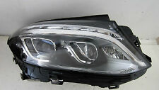15 16 MERCEDES  AMG GLE250 GLE350 LED OEM PASSENGER LED HEADLIGHT COMPLETE NEW