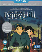 From Up On Poppy Hill Blu Ray + DVD Slipcase Studio Ghibli Goro Miyazaki