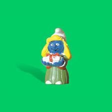 """20200-""""Weihnachts Schlumpfinchen mit Kleid""""-""""Christmas Smurfette""""-Schleich-NEW!"""