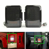 Tail Lights Reverse Rear LED Lamps Fit Wrangler JK 2007-2017 US Version USA