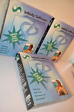 INFINITY SOFTWARE Dental Medical Starter System Insurance WINDOWS 95 VHS CD-ROM
