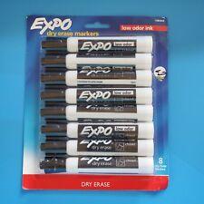 Expodry Erase Markerschisel Tiplow Odor Inkblack8 Packnew