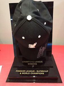 Jurgen Klopp Liverpool Fc Signed Cap In Display Case With Coa
