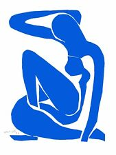 Henri Matisse - Blue Nude I (signed lithograph, edition of 200)