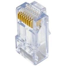 On-q/legrand Cat 5e Ez Rj45 Connector, 50-pack - 50 Pack - 1 X Rj-45 Male -
