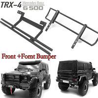 Steel Rear +Front Bumper for 1/10 Traxxas TRX-4 Mercedes-Benz TRX-6 G63 G500 RC