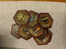 Heroscape Master Set Rise Of The Valkyrie Glyphs 10X Full Set