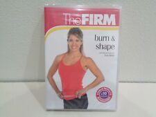 The Firm Burn & Shape New Dvd 2007 By Master Instructor Emily Welsh