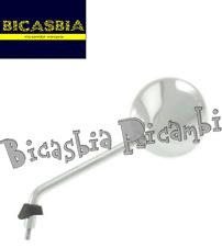 6822 - SPECCHIO RETROVISORE CROMATO SINISTRO VESPA 50 125 150 LX LXV 2009 - 2013