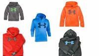 Under Armour Little Boys HD Big Logo Pullover Hoodie UA NWT Size 4,5,6