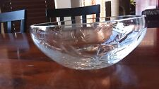 Fine Crystal Dish - Simple, Beautiful Patterns - purchased in Austria 1980
