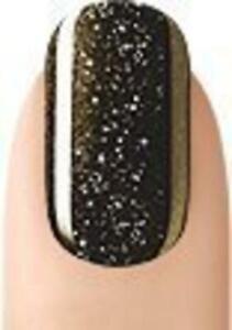Sensationail Glitter & Color Gel Polish 71717 Gold Glitter & Midnight Redezous..