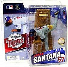McFARLANE MLB 15  - JOHAN SANTANA - MINNESOTA TWINS - VARIANT FIGUR - NEU/OVP