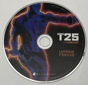 Focus T25 Beta Workout Replacement DVD Upper Focus EUC Beach Body
