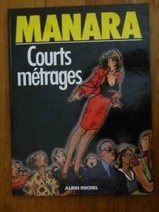 Courts métrages, Manara, Albin Michel 1988 (édition originale)
