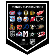 NHL 2018 Molson Canadian Stanley Cup Champions Banner Complete Set of 20 Coors