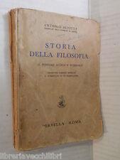 STORIA DELLA FILOSOFIA Il pensiero antico e medievale Antonio Aliotta Perrella
