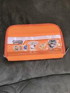 Orange Japan Pokemon Platinum DS Case