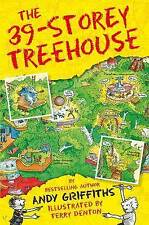 NEW The 39-Storey Treehouse By Andy Griffiths Paperback Free Shipping
