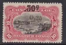 Belgian Congo - SG 115 - m/m - 1923 - 0.5 0n 30c on 10c