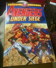 Avengers: Under Siege softcover graphic novel RARE OOP Marvel
