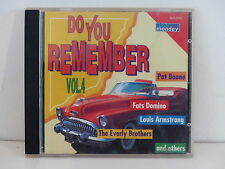 CD ALBUM Compil Do you remember 4  PAT BOONE FATS DOMINO .. Blue Monday BLM 5940