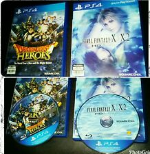 PS4 DRAGON QUEST HEROES & FINAL FANTASY X/X-2 HD REMASTER