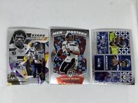 2020 Panini Mosaic RUSSELL WILSON Men of Mastery Stare Masters Montage Lot x3