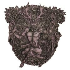 Horned God Cernunnos Plaque / Wicca / Witchcraft / Druid / Nemesis Now