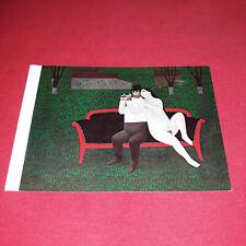 Rare Vintage Jan Balet A-Moll Colour Print Nude Art Picture Postcard Germany