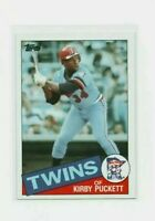 1985 Topps Kirby Puckett Baseball Card #536 Rookie Minnesota Twins HOF