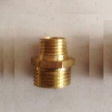 Fitting Reducer Metric M10 M10X1 Male to M8 M8X1 Gauge Adapter Nipple ZA4