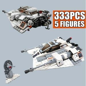 New 20th Edition Star Space Ship Series Wars Snow speeder Snowfield Aircraft Fit