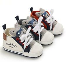 Baby Boy Girl Crib Shoes Infant 3D Animal High Top Booties First Step Trainers