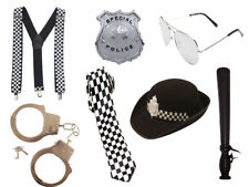 FANCY SET LADIES GIRLS POLICE WOMEN HEN PARTY LADY COP COSTUME POLICE HAT OUTFIT