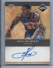 IMAN SHUMPERT 2011-12 LIMITED KNICKS ON CARD AUTO RC #18