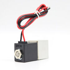 """24V DC 1/4"""" 2 Way Normally Closed Pneumatic Aluminum Electric Solenoid Air Valve"""