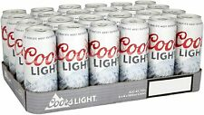 Coors Light Premium Lager (24 x 500ml cans)