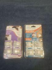 2- DreamBaby Mag Lock 4 pk - Child Proof Safety Magnetic Cabinet Door Locks L154