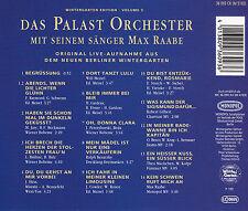 MAX RAABE - CD - Berliner Wintergarten Edition Vol.3