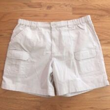 Savane Hiking Short Mens Size 42 Khaki Cargo Shorts UPF 30 EcoStart NEW