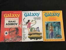 GALAXY March, July, Sept. 1972