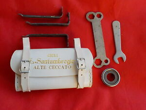 kit attrezzi chiave borsello per Bici Bicicletta Bianchi Epoca Umberto dei