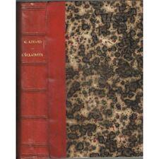 L'ÉCLAIREUR par Gustave AIMARD CHASSEURS et INDIENS du Colorado Édit. AMYOT 1860