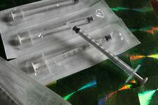 5 x Spritzen Einwegspritzen 1 ml / 1ml Tuberkulin Spritze neu einzeln verpackt