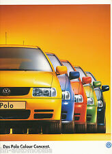Prospekt: VW Polo Colour Concept 7 96 Autoprospekt 1996 Auto PKWs Deutschland