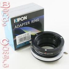 Kipon Tilt Contax Yashica C/Y mount lens to Fujifilm Fuji X-Pro1 E1 FX Adapter