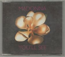 madonna - you'll see  cd single